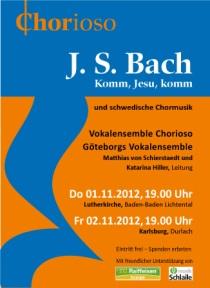 Affisch Bach